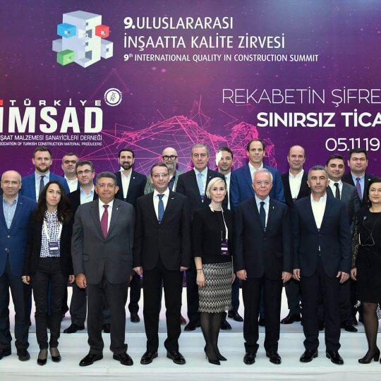 Компания Префабрик Япы (Prefabrik Yapı) Приняла Участие В 9-м Международном Саммите Качество В Строительстве